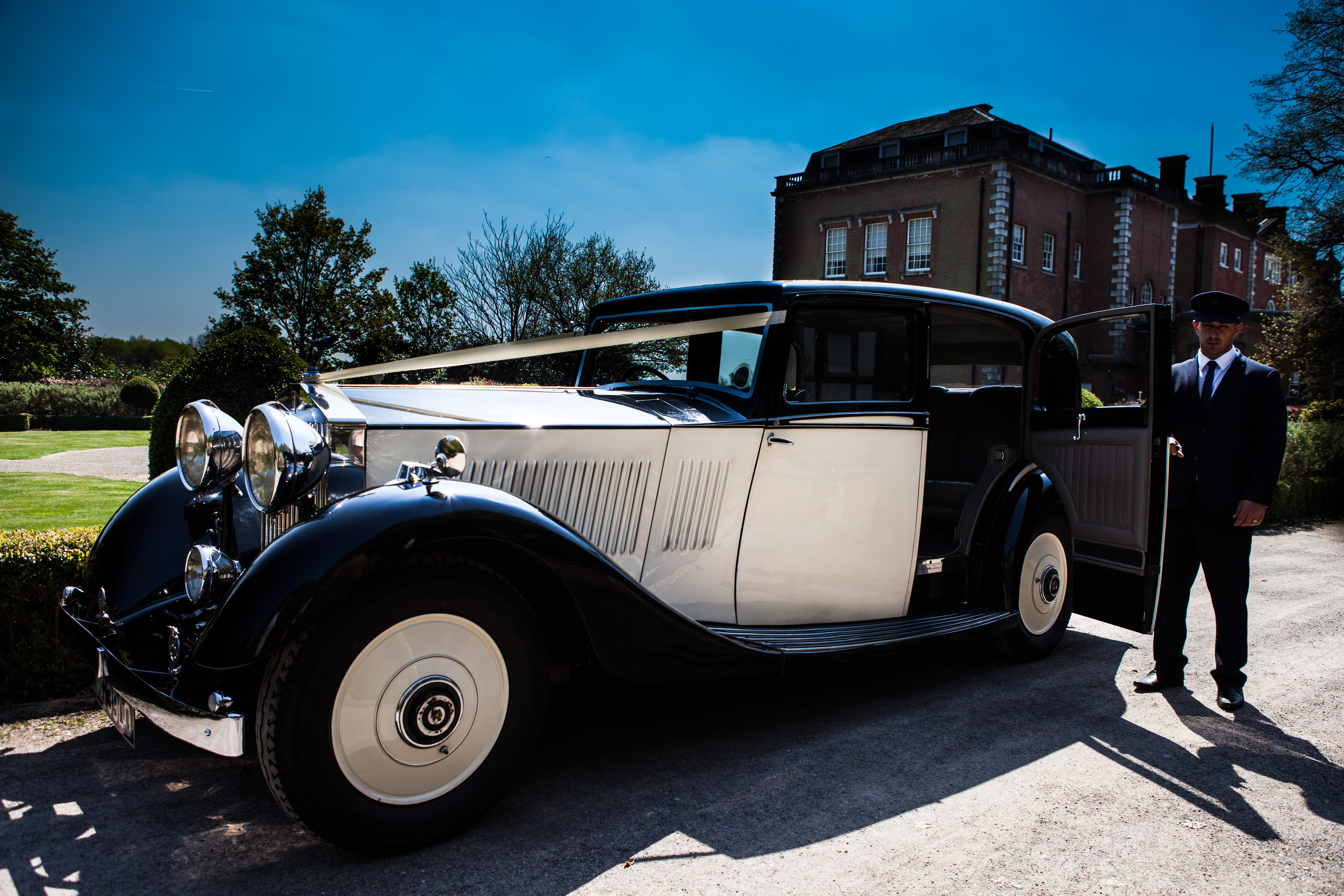 1935 Rolls Royce Hooper Wedding Car Hire Hertfordshire Brisan Carriages